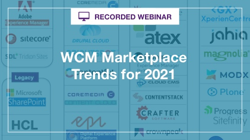 WCM Trends in 2021