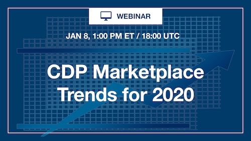[Webinar] CDP Marketplace Trends for 2020